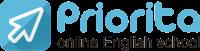 Онлайн школа английского языка Priorita. Изучение, курсы по Skype и Zoom.